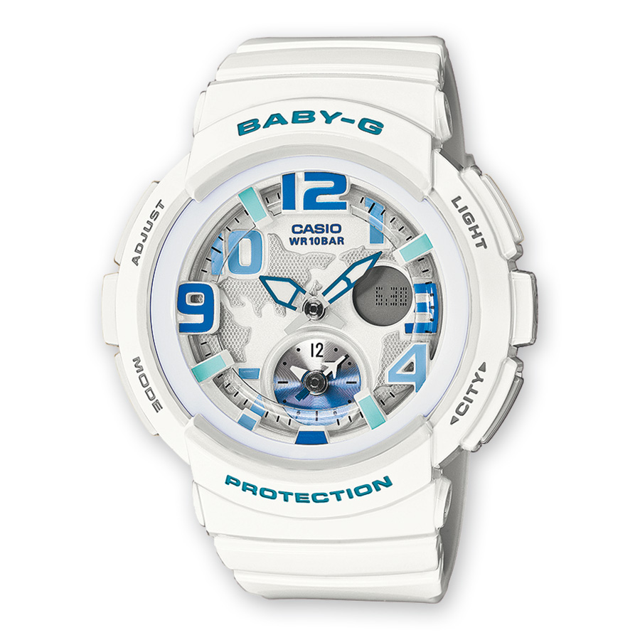 casio baby g wr10bar manual