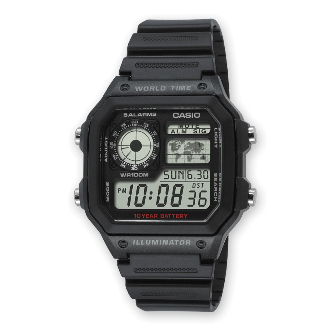 AE-1200WH-1AVEF CASIO Collection
