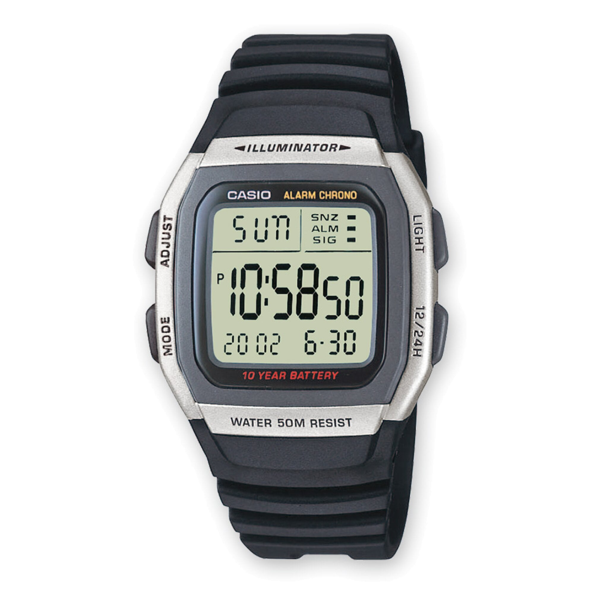 W-96H-1AVES CASIO Collection