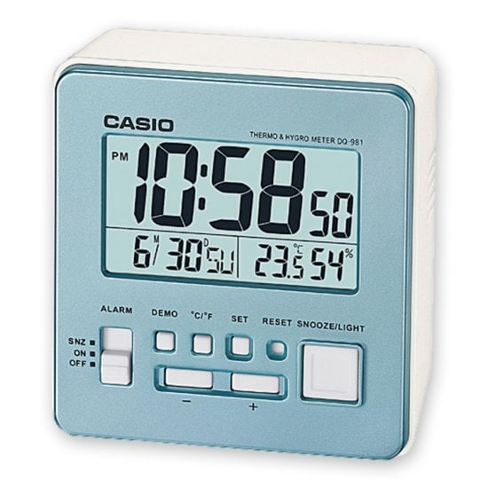 CASIO Wake up Timer DQ-981-2ER