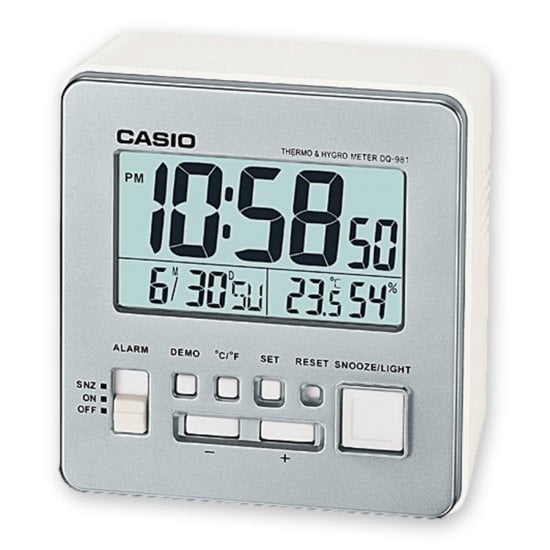 CASIO Wake up Timer DQ-981-8ER