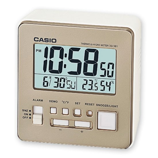 CASIO Wake up Timer DQ-981-9ER