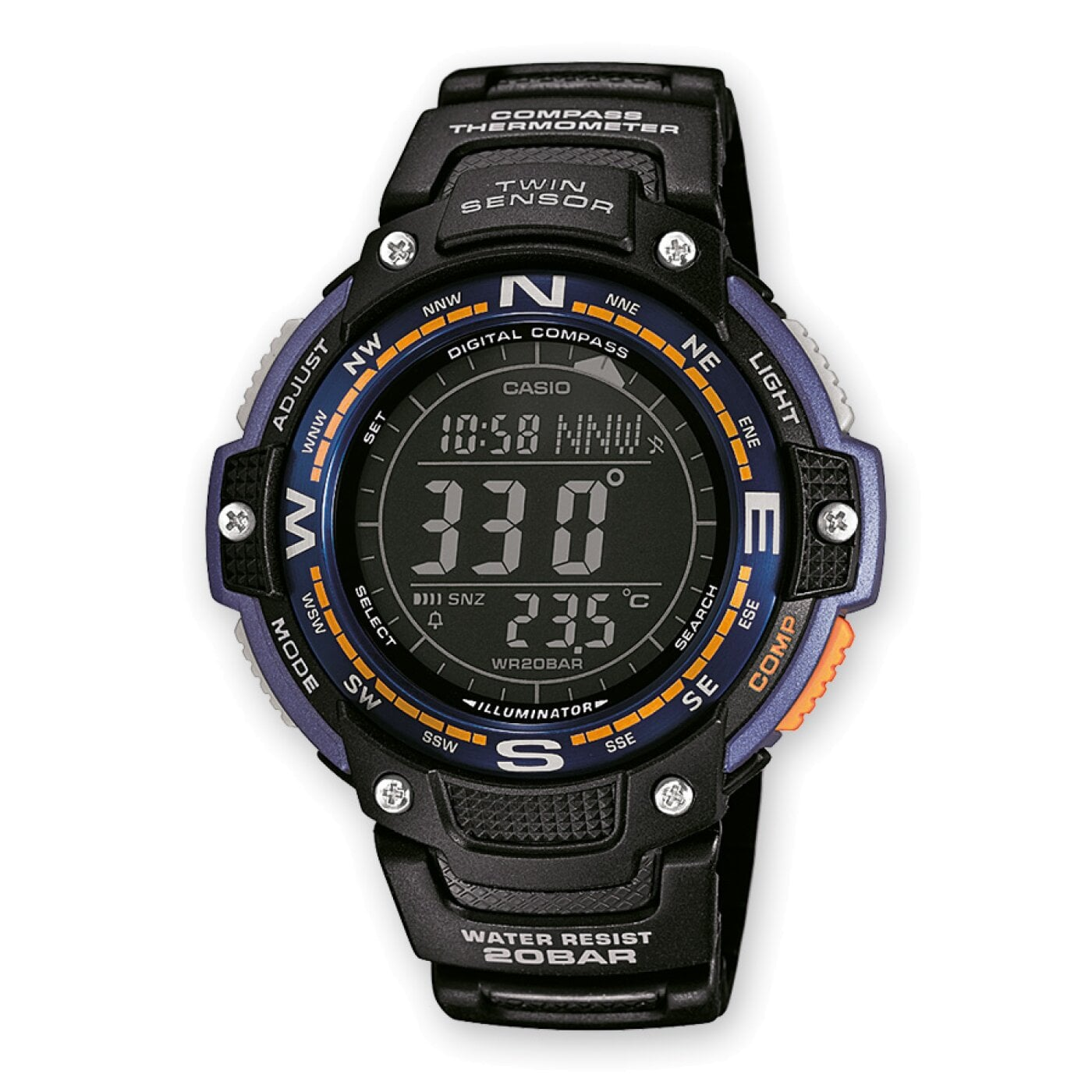 SGW-100-2BER CASIO Collection
