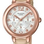 CASIO SHEEN SHE-3048PGL-7BUER