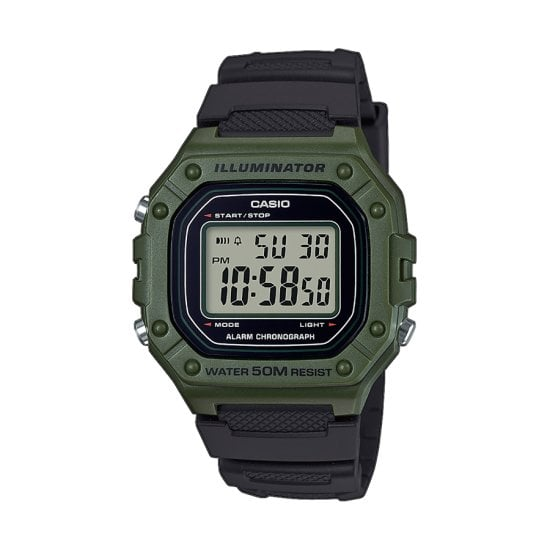 CASIO Collection W-218H-3AVEF