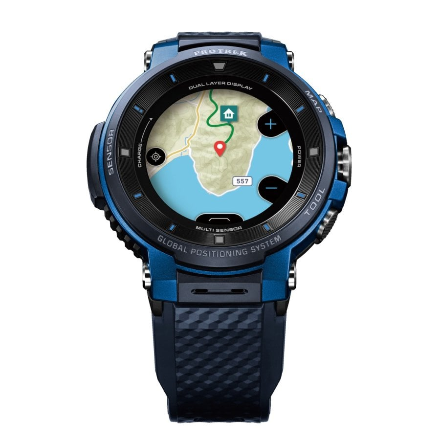 0aaa19e49ac0 CASIO PRO TREK SMART WSD-F30-BUCAE. Zoom. CASIO ...