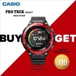 CASIO PRO TREK SMART WSD-F21HR-RDBGE