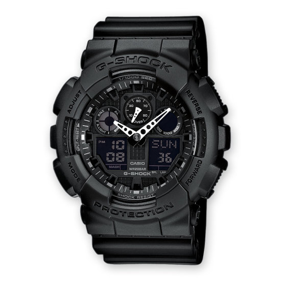 G-SHOCK zwarte horloges